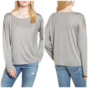 MADEWELL Libretto Wide Sleeve Top  SIZE Medium